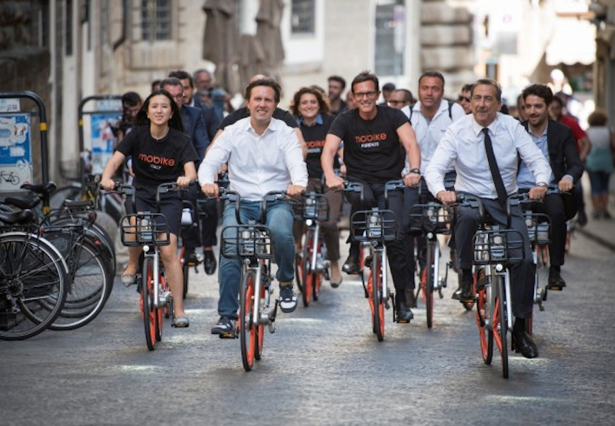 Mobike Expands in Europe with bike rental services in Florence