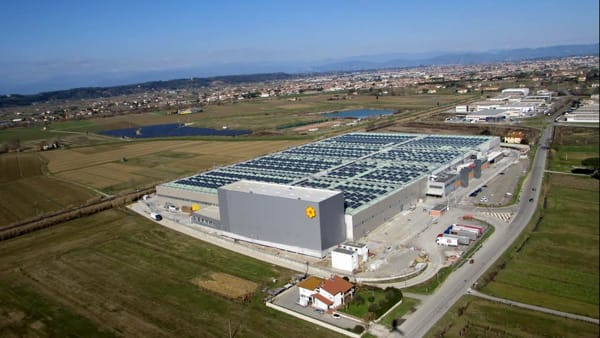 New Conad logistics hub in Central Italy new investment