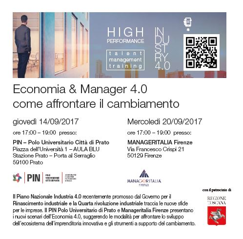 """Meeting on """"Economy & Management  4.0 – How to deal the change!"""""""