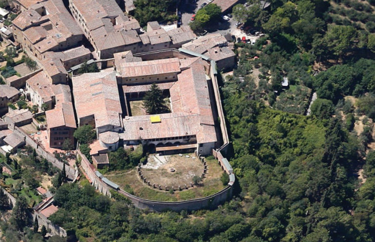 Started the european public tender for the San Domenico property (San Gimignano – Tuscany)
