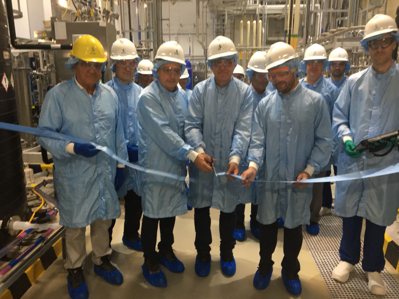 Solvay, inaugurated a new plant