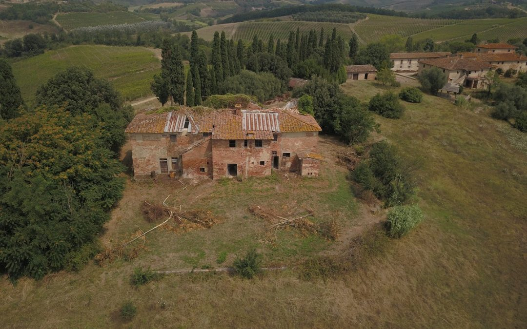 Acquired Villa di Petriolo, on the hills of Cerreto Guidi