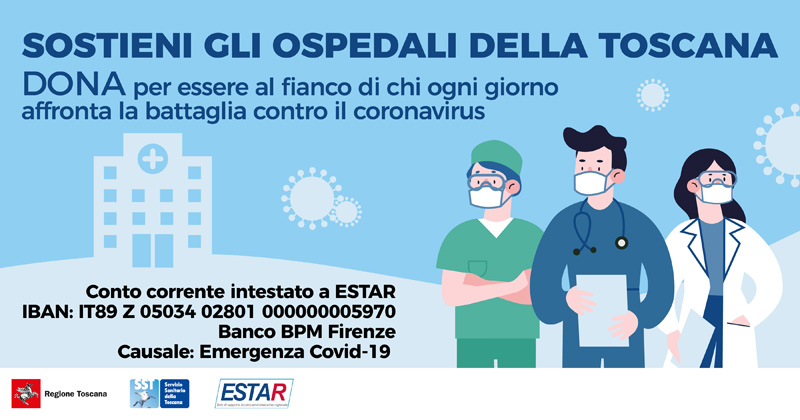 Support the hospitals of Tuscany